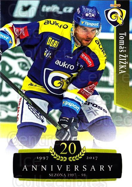 2017-18 Czech OFS Classic Anniversary #160 Tomas Zizka<br/>1 In Stock - $2.00 each - <a href=https://centericecollectibles.foxycart.com/cart?name=2017-18%20Czech%20OFS%20Classic%20Anniversary%20%23160%20Tomas%20Zizka...&quantity_max=1&price=$2.00&code=706490 class=foxycart> Buy it now! </a>