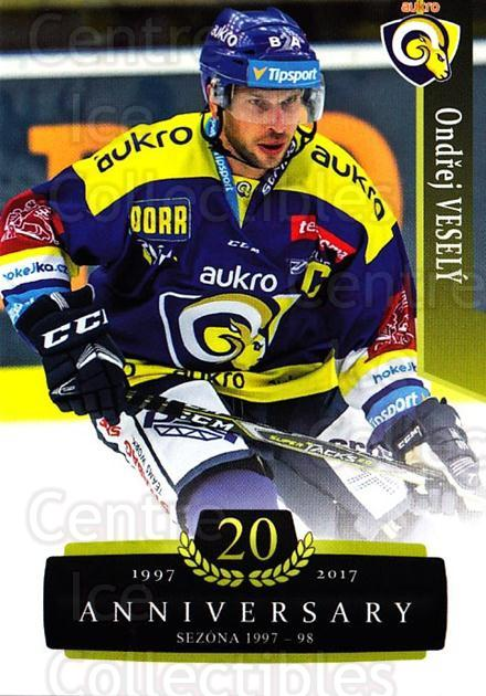 2017-18 Czech OFS Classic Anniversary #165 Ondrej Vesely<br/>2 In Stock - $2.00 each - <a href=https://centericecollectibles.foxycart.com/cart?name=2017-18%20Czech%20OFS%20Classic%20Anniversary%20%23165%20Ondrej%20Vesely...&quantity_max=2&price=$2.00&code=706495 class=foxycart> Buy it now! </a>