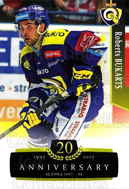 2017-18 Czech OFS Classic Anniversary #166 Roberts Bukarts<br/>1 In Stock - $2.00 each - <a href=https://centericecollectibles.foxycart.com/cart?name=2017-18%20Czech%20OFS%20Classic%20Anniversary%20%23166%20Roberts%20Bukarts...&quantity_max=1&price=$2.00&code=706496 class=foxycart> Buy it now! </a>