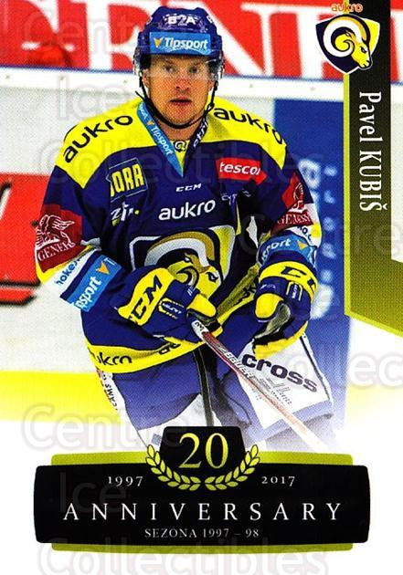2017-18 Czech OFS Classic Anniversary #167 Pavel Kubis<br/>2 In Stock - $2.00 each - <a href=https://centericecollectibles.foxycart.com/cart?name=2017-18%20Czech%20OFS%20Classic%20Anniversary%20%23167%20Pavel%20Kubis...&quantity_max=2&price=$2.00&code=706497 class=foxycart> Buy it now! </a>