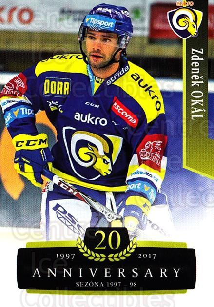 2017-18 Czech OFS Classic Anniversary #168 Zdenek Okal<br/>2 In Stock - $2.00 each - <a href=https://centericecollectibles.foxycart.com/cart?name=2017-18%20Czech%20OFS%20Classic%20Anniversary%20%23168%20Zdenek%20Okal...&quantity_max=2&price=$2.00&code=706498 class=foxycart> Buy it now! </a>