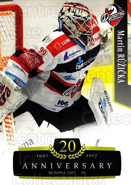 2017-18 Czech OFS Classic Anniversary #173 Martin Ruzicka<br/>2 In Stock - $2.00 each - <a href=https://centericecollectibles.foxycart.com/cart?name=2017-18%20Czech%20OFS%20Classic%20Anniversary%20%23173%20Martin%20Ruzicka...&quantity_max=2&price=$2.00&code=706503 class=foxycart> Buy it now! </a>
