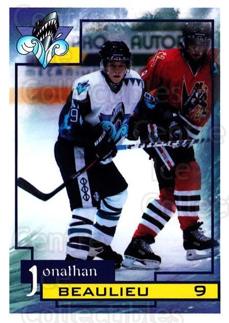 1997-98 Rimouski Oceanic #1 Jonathan Beaulieu<br/>1 In Stock - $3.00 each - <a href=https://centericecollectibles.foxycart.com/cart?name=1997-98%20Rimouski%20Oceanic%20%231%20Jonathan%20Beauli...&quantity_max=1&price=$3.00&code=706756 class=foxycart> Buy it now! </a>