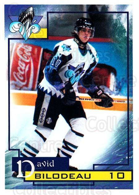 1997-98 Rimouski Oceanic #4 David Bilodeau<br/>1 In Stock - $3.00 each - <a href=https://centericecollectibles.foxycart.com/cart?name=1997-98%20Rimouski%20Oceanic%20%234%20David%20Bilodeau...&quantity_max=1&price=$3.00&code=706759 class=foxycart> Buy it now! </a>