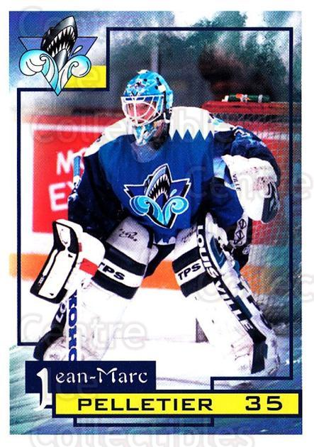 1997-98 Rimouski Oceanic #17 Jean-Marc Pelletier<br/>1 In Stock - $3.00 each - <a href=https://centericecollectibles.foxycart.com/cart?name=1997-98%20Rimouski%20Oceanic%20%2317%20Jean-Marc%20Pelle...&quantity_max=1&price=$3.00&code=706772 class=foxycart> Buy it now! </a>