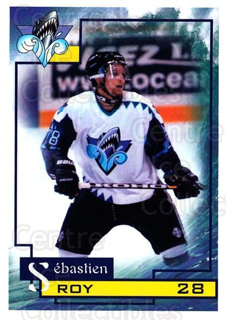 1997-98 Rimouski Oceanic #19 Sebastien Roy<br/>1 In Stock - $3.00 each - <a href=https://centericecollectibles.foxycart.com/cart?name=1997-98%20Rimouski%20Oceanic%20%2319%20Sebastien%20Roy...&quantity_max=1&price=$3.00&code=706774 class=foxycart> Buy it now! </a>
