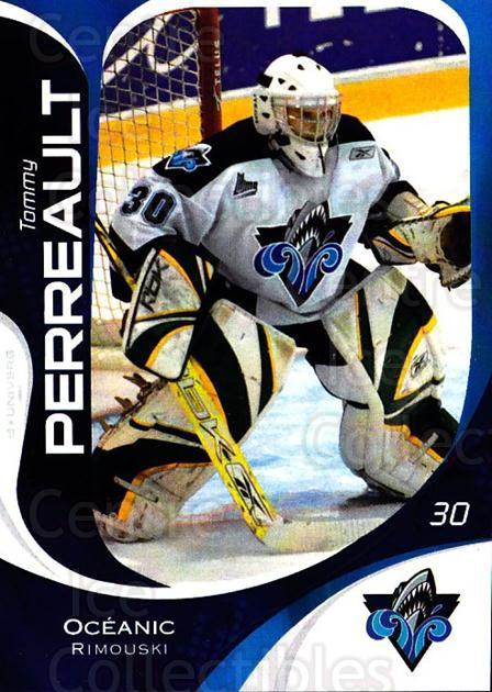 2007-08 Rimouski Oceanic #3 Tommy Perreault<br/>1 In Stock - $3.00 each - <a href=https://centericecollectibles.foxycart.com/cart?name=2007-08%20Rimouski%20Oceanic%20%233%20Tommy%20Perreault...&quantity_max=1&price=$3.00&code=706784 class=foxycart> Buy it now! </a>