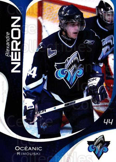 2007-08 Rimouski Oceanic #12 Alexandre Neron<br/>1 In Stock - $3.00 each - <a href=https://centericecollectibles.foxycart.com/cart?name=2007-08%20Rimouski%20Oceanic%20%2312%20Alexandre%20Neron...&quantity_max=1&price=$3.00&code=706793 class=foxycart> Buy it now! </a>