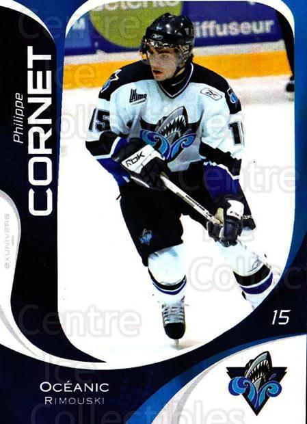 2007-08 Rimouski Oceanic #15 Philippe Cornet<br/>1 In Stock - $3.00 each - <a href=https://centericecollectibles.foxycart.com/cart?name=2007-08%20Rimouski%20Oceanic%20%2315%20Philippe%20Cornet...&quantity_max=1&price=$3.00&code=706796 class=foxycart> Buy it now! </a>