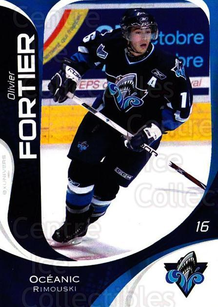 2007-08 Rimouski Oceanic #16 Olivier Fortier<br/>1 In Stock - $3.00 each - <a href=https://centericecollectibles.foxycart.com/cart?name=2007-08%20Rimouski%20Oceanic%20%2316%20Olivier%20Fortier...&quantity_max=1&price=$3.00&code=706797 class=foxycart> Buy it now! </a>