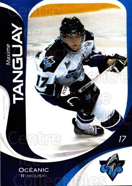 2007-08 Rimouski Oceanic #19 Maxime Tanguay<br/>1 In Stock - $3.00 each - <a href=https://centericecollectibles.foxycart.com/cart?name=2007-08%20Rimouski%20Oceanic%20%2319%20Maxime%20Tanguay...&quantity_max=1&price=$3.00&code=706800 class=foxycart> Buy it now! </a>