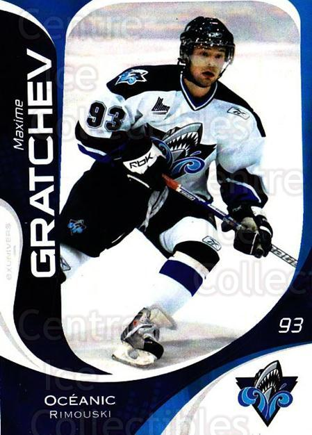 2007-08 Rimouski Oceanic #22 Maxime Gratchev<br/>1 In Stock - $3.00 each - <a href=https://centericecollectibles.foxycart.com/cart?name=2007-08%20Rimouski%20Oceanic%20%2322%20Maxime%20Gratchev...&quantity_max=1&price=$3.00&code=706803 class=foxycart> Buy it now! </a>