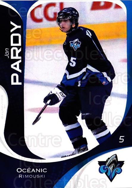 2007-08 Rimouski Oceanic #23 Jon Pardy<br/>1 In Stock - $3.00 each - <a href=https://centericecollectibles.foxycart.com/cart?name=2007-08%20Rimouski%20Oceanic%20%2323%20Jon%20Pardy...&quantity_max=1&price=$3.00&code=706804 class=foxycart> Buy it now! </a>