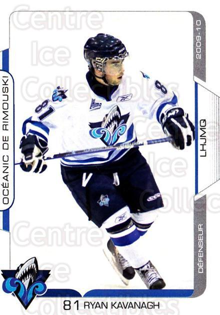 2009-10 Rimouski Oceanic #8 Ryan Kavanagh<br/>1 In Stock - $3.00 each - <a href=https://centericecollectibles.foxycart.com/cart?name=2009-10%20Rimouski%20Oceanic%20%238%20Ryan%20Kavanagh...&quantity_max=1&price=$3.00&code=706815 class=foxycart> Buy it now! </a>