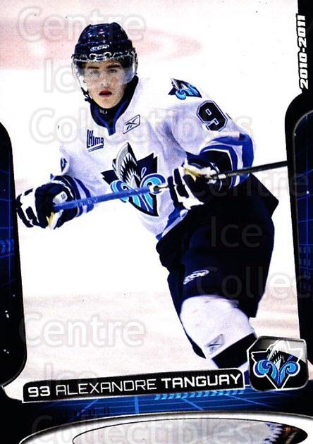 2010-11 Rimouski Oceanic #22 Alexandre Tanguay<br/>1 In Stock - $3.00 each - <a href=https://centericecollectibles.foxycart.com/cart?name=2010-11%20Rimouski%20Oceanic%20%2322%20Alexandre%20Tangu...&quantity_max=1&price=$3.00&code=706856 class=foxycart> Buy it now! </a>