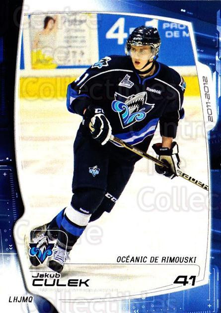 2011-12 Rimouski Oceanic #13 Jakub Culek<br/>2 In Stock - $3.00 each - <a href=https://centericecollectibles.foxycart.com/cart?name=2011-12%20Rimouski%20Oceanic%20%2313%20Jakub%20Culek...&quantity_max=2&price=$3.00&code=706869 class=foxycart> Buy it now! </a>