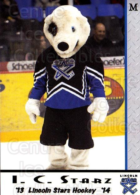 2013-14 Lincoln Stars High Gloss #28 Mascot<br/>3 In Stock - $3.00 each - <a href=https://centericecollectibles.foxycart.com/cart?name=2013-14%20Lincoln%20Stars%20High%20Gloss%20%2328%20Mascot...&quantity_max=3&price=$3.00&code=707163 class=foxycart> Buy it now! </a>