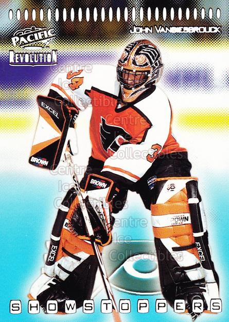 1998-99 Revolution Showstoppers #27 John Vanbiesbrouck<br/>2 In Stock - $2.00 each - <a href=https://centericecollectibles.foxycart.com/cart?name=1998-99%20Revolution%20Showstoppers%20%2327%20John%20Vanbiesbro...&quantity_max=2&price=$2.00&code=70746 class=foxycart> Buy it now! </a>