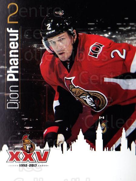 2016-17 Ottawa Senators Team Issue #2 Dion Phaneuf<br/>1 In Stock - $3.00 each - <a href=https://centericecollectibles.foxycart.com/cart?name=2016-17%20Ottawa%20Senators%20Team%20Issue%20%232%20Dion%20Phaneuf...&price=$3.00&code=707507 class=foxycart> Buy it now! </a>