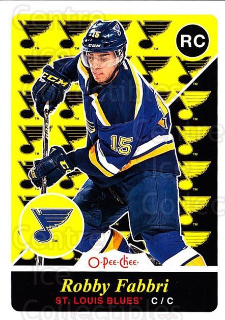 2015-16 O-Pee-chee Update Retro #24 Robby Fabbri<br/>5 In Stock - $3.00 each - <a href=https://centericecollectibles.foxycart.com/cart?name=2015-16%20O-Pee-chee%20Update%20Retro%20%2324%20Robby%20Fabbri...&quantity_max=5&price=$3.00&code=707547 class=foxycart> Buy it now! </a>