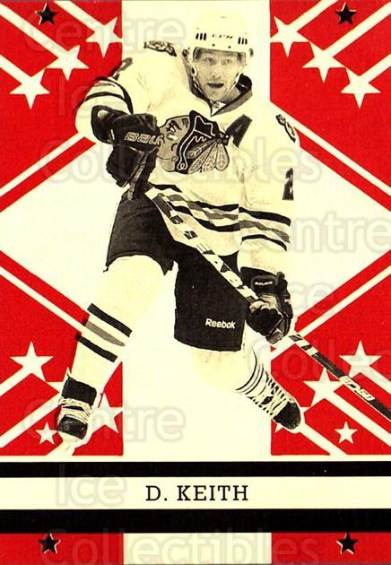 2011-12 O-pee-chee Retro #4 Duncan Keith<br/>2 In Stock - $2.00 each - <a href=https://centericecollectibles.foxycart.com/cart?name=2011-12%20O-pee-chee%20Retro%20%234%20Duncan%20Keith...&quantity_max=2&price=$2.00&code=707627 class=foxycart> Buy it now! </a>
