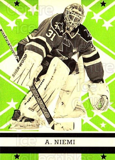 2011-12 O-pee-chee Retro #37 Antti Niemi<br/>2 In Stock - $2.00 each - <a href=https://centericecollectibles.foxycart.com/cart?name=2011-12%20O-pee-chee%20Retro%20%2337%20Antti%20Niemi...&quantity_max=2&price=$2.00&code=707660 class=foxycart> Buy it now! </a>