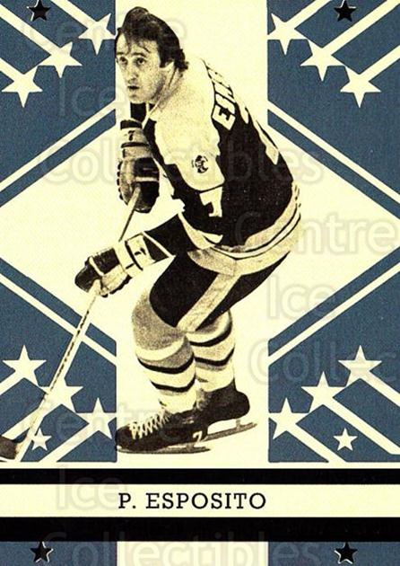 2011-12 O-pee-chee Retro #546 Phil Esposito<br/>1 In Stock - $3.00 each - <a href=https://centericecollectibles.foxycart.com/cart?name=2011-12%20O-pee-chee%20Retro%20%23546%20Phil%20Esposito...&quantity_max=1&price=$3.00&code=708169 class=foxycart> Buy it now! </a>