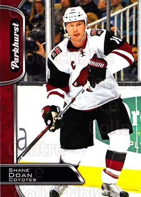 2016-17 Parkhurst Red #20 Shane Doan<br/>2 In Stock - $2.00 each - <a href=https://centericecollectibles.foxycart.com/cart?name=2016-17%20Parkhurst%20Red%20%2320%20Shane%20Doan...&quantity_max=2&price=$2.00&code=708271 class=foxycart> Buy it now! </a>