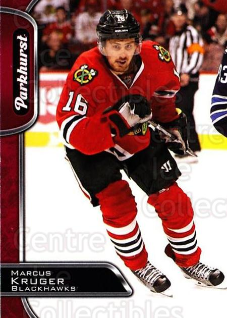 2016-17 Parkhurst Red #76 Marcus Kruger<br/>1 In Stock - $2.00 each - <a href=https://centericecollectibles.foxycart.com/cart?name=2016-17%20Parkhurst%20Red%20%2376%20Marcus%20Kruger...&quantity_max=1&price=$2.00&code=708327 class=foxycart> Buy it now! </a>