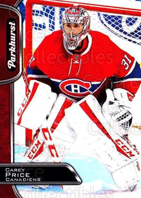 2016-17 Parkhurst Red #175 Carey Price<br/>1 In Stock - $10.00 each - <a href=https://centericecollectibles.foxycart.com/cart?name=2016-17%20Parkhurst%20Red%20%23175%20Carey%20Price...&price=$10.00&code=708426 class=foxycart> Buy it now! </a>