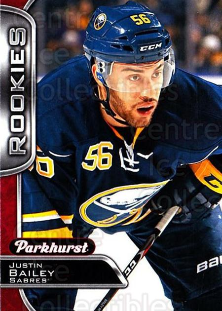 2016-17 Parkhurst Red #346 Justin Bailey<br/>1 In Stock - $5.00 each - <a href=https://centericecollectibles.foxycart.com/cart?name=2016-17%20Parkhurst%20Red%20%23346%20Justin%20Bailey...&price=$5.00&code=708597 class=foxycart> Buy it now! </a>
