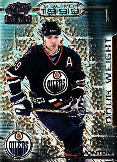 1998-99 Revolution #58 Doug Weight<br/>5 In Stock - $1.00 each - <a href=https://centericecollectibles.foxycart.com/cart?name=1998-99%20Revolution%20%2358%20Doug%20Weight...&quantity_max=5&price=$1.00&code=70862 class=foxycart> Buy it now! </a>