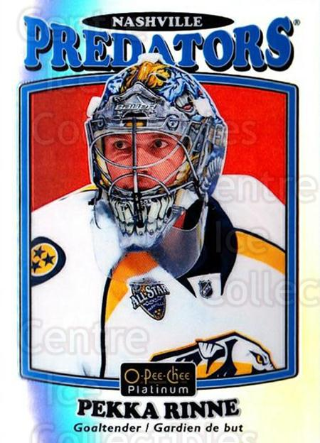 2016-17 O-Pee-Chee Platinum Retro Rainbow #65 Pekka Rinne<br/>1 In Stock - $5.00 each - <a href=https://centericecollectibles.foxycart.com/cart?name=2016-17%20O-Pee-Chee%20Platinum%20Retro%20Rainbow%20%2365%20Pekka%20Rinne...&quantity_max=1&price=$5.00&code=708716 class=foxycart> Buy it now! </a>
