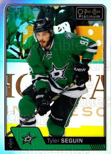 2016-17 O-Pee-Chee Platinum Rainbow #2 Tyler Seguin<br/>2 In Stock - $3.00 each - <a href=https://centericecollectibles.foxycart.com/cart?name=2016-17%20O-Pee-Chee%20Platinum%20Rainbow%20%232%20Tyler%20Seguin...&quantity_max=2&price=$3.00&code=708853 class=foxycart> Buy it now! </a>