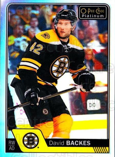 2016-17 O-Pee-Chee Platinum Rainbow #32 David Backes<br/>2 In Stock - $3.00 each - <a href=https://centericecollectibles.foxycart.com/cart?name=2016-17%20O-Pee-Chee%20Platinum%20Rainbow%20%2332%20David%20Backes...&quantity_max=2&price=$3.00&code=708883 class=foxycart> Buy it now! </a>