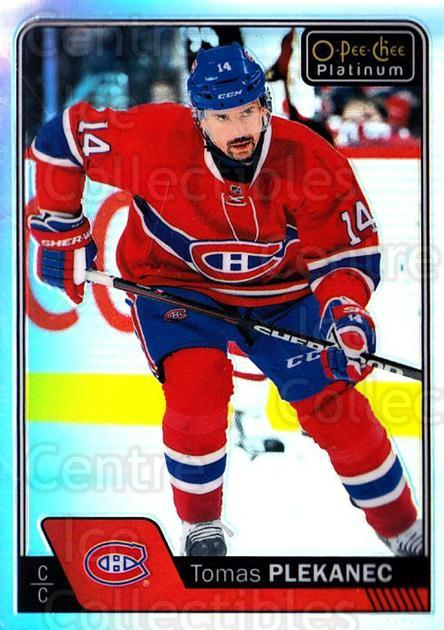 2016-17 O-Pee-Chee Platinum Rainbow #81 Tomas Plekanec<br/>2 In Stock - $3.00 each - <a href=https://centericecollectibles.foxycart.com/cart?name=2016-17%20O-Pee-Chee%20Platinum%20Rainbow%20%2381%20Tomas%20Plekanec...&quantity_max=2&price=$3.00&code=708932 class=foxycart> Buy it now! </a>