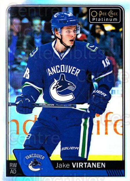 2016-17 O-Pee-Chee Platinum Rainbow #87 Jake Virtanen<br/>2 In Stock - $3.00 each - <a href=https://centericecollectibles.foxycart.com/cart?name=2016-17%20O-Pee-Chee%20Platinum%20Rainbow%20%2387%20Jake%20Virtanen...&quantity_max=2&price=$3.00&code=708938 class=foxycart> Buy it now! </a>