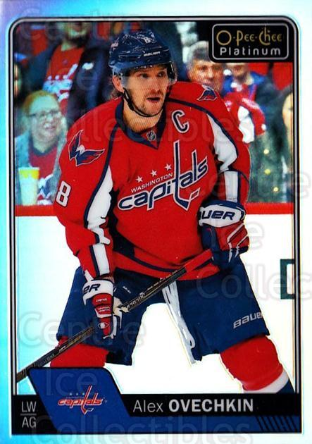 2016-17 O-Pee-Chee Platinum Rainbow #100 Alexander Ovechkin<br/>2 In Stock - $10.00 each - <a href=https://centericecollectibles.foxycart.com/cart?name=2016-17%20O-Pee-Chee%20Platinum%20Rainbow%20%23100%20Alexander%20Ovech...&price=$10.00&code=708951 class=foxycart> Buy it now! </a>
