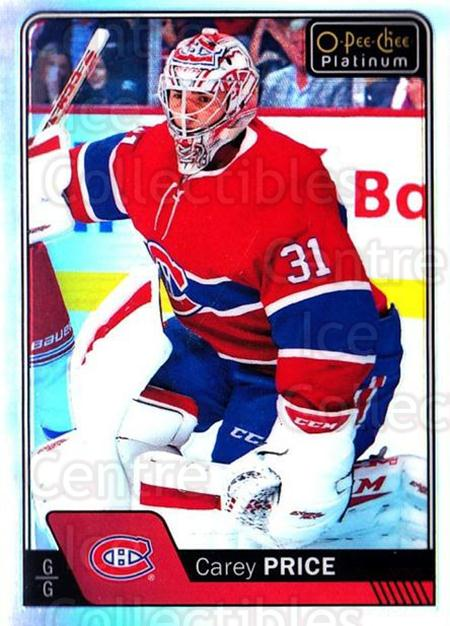 2016-17 O-Pee-Chee Platinum Rainbow #125 Carey Price<br/>2 In Stock - $10.00 each - <a href=https://centericecollectibles.foxycart.com/cart?name=2016-17%20O-Pee-Chee%20Platinum%20Rainbow%20%23125%20Carey%20Price...&price=$10.00&code=708976 class=foxycart> Buy it now! </a>