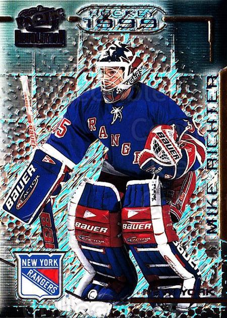 1998-99 Revolution #97 Mike Richter<br/>4 In Stock - $1.00 each - <a href=https://centericecollectibles.foxycart.com/cart?name=1998-99%20Revolution%20%2397%20Mike%20Richter...&quantity_max=4&price=$1.00&code=70902 class=foxycart> Buy it now! </a>