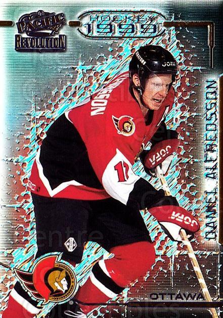 1998-99 Revolution #98 Daniel Alfredsson<br/>4 In Stock - $1.00 each - <a href=https://centericecollectibles.foxycart.com/cart?name=1998-99%20Revolution%20%2398%20Daniel%20Alfredss...&quantity_max=4&price=$1.00&code=70903 class=foxycart> Buy it now! </a>