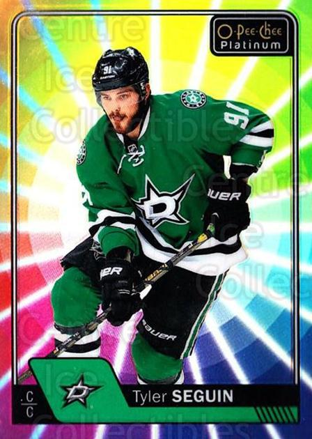 2016-17 O-Pee-Chee Platinum Rainbow Color Wheel #2 Tyler Seguin<br/>1 In Stock - $5.00 each - <a href=https://centericecollectibles.foxycart.com/cart?name=2016-17%20O-Pee-Chee%20Platinum%20Rainbow%20Color%20Wheel%20%232%20Tyler%20Seguin...&quantity_max=1&price=$5.00&code=709053 class=foxycart> Buy it now! </a>