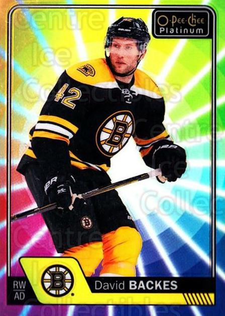 2016-17 O-Pee-Chee Platinum Rainbow Color Wheel #32 David Backes<br/>1 In Stock - $5.00 each - <a href=https://centericecollectibles.foxycart.com/cart?name=2016-17%20O-Pee-Chee%20Platinum%20Rainbow%20Color%20Wheel%20%2332%20David%20Backes...&quantity_max=1&price=$5.00&code=709083 class=foxycart> Buy it now! </a>