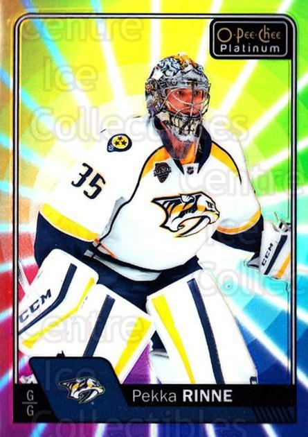 2016-17 O-Pee-Chee Platinum Rainbow Color Wheel #72 Pekka Rinne<br/>1 In Stock - $5.00 each - <a href=https://centericecollectibles.foxycart.com/cart?name=2016-17%20O-Pee-Chee%20Platinum%20Rainbow%20Color%20Wheel%20%2372%20Pekka%20Rinne...&quantity_max=1&price=$5.00&code=709123 class=foxycart> Buy it now! </a>