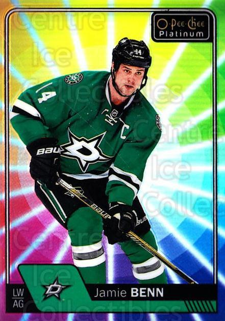 2016-17 O-Pee-Chee Platinum Rainbow Color Wheel #75 Jamie Benn<br/>1 In Stock - $5.00 each - <a href=https://centericecollectibles.foxycart.com/cart?name=2016-17%20O-Pee-Chee%20Platinum%20Rainbow%20Color%20Wheel%20%2375%20Jamie%20Benn...&quantity_max=1&price=$5.00&code=709126 class=foxycart> Buy it now! </a>