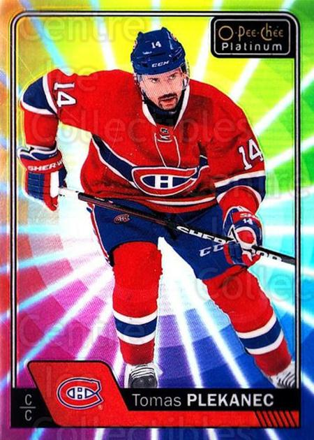 2016-17 O-Pee-Chee Platinum Rainbow Color Wheel #81 Tomas Plekanec<br/>1 In Stock - $5.00 each - <a href=https://centericecollectibles.foxycart.com/cart?name=2016-17%20O-Pee-Chee%20Platinum%20Rainbow%20Color%20Wheel%20%2381%20Tomas%20Plekanec...&quantity_max=1&price=$5.00&code=709132 class=foxycart> Buy it now! </a>