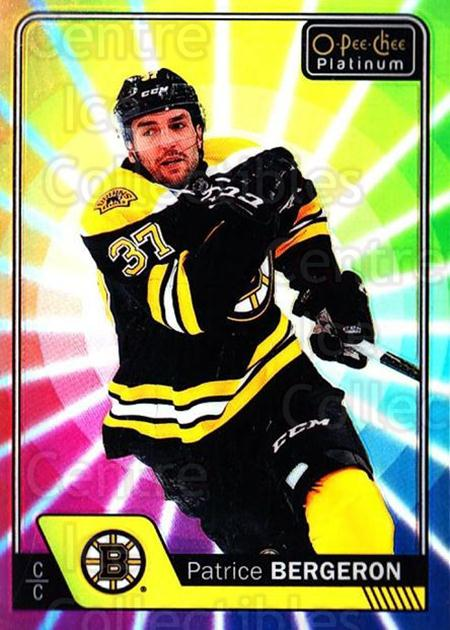 2016-17 O-Pee-Chee Platinum Rainbow Color Wheel #92 Patrice Bergeron<br/>1 In Stock - $5.00 each - <a href=https://centericecollectibles.foxycart.com/cart?name=2016-17%20O-Pee-Chee%20Platinum%20Rainbow%20Color%20Wheel%20%2392%20Patrice%20Bergero...&quantity_max=1&price=$5.00&code=709143 class=foxycart> Buy it now! </a>