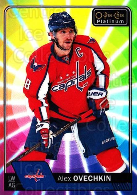 2016-17 O-Pee-Chee Platinum Rainbow Color Wheel #100 Alexander Ovechkin<br/>1 In Stock - $10.00 each - <a href=https://centericecollectibles.foxycart.com/cart?name=2016-17%20O-Pee-Chee%20Platinum%20Rainbow%20Color%20Wheel%20%23100%20Alexander%20Ovech...&price=$10.00&code=709151 class=foxycart> Buy it now! </a>