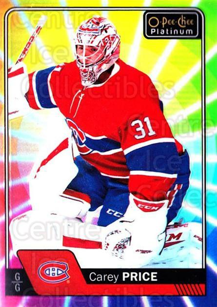 2016-17 O-Pee-Chee Platinum Rainbow Color Wheel #125 Carey Price<br/>1 In Stock - $10.00 each - <a href=https://centericecollectibles.foxycart.com/cart?name=2016-17%20O-Pee-Chee%20Platinum%20Rainbow%20Color%20Wheel%20%23125%20Carey%20Price...&price=$10.00&code=709176 class=foxycart> Buy it now! </a>