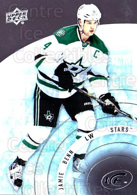 2014-15 UD Ice #6 Jamie Benn<br/>6 In Stock - $2.00 each - <a href=https://centericecollectibles.foxycart.com/cart?name=2014-15%20UD%20Ice%20%236%20Jamie%20Benn...&quantity_max=6&price=$2.00&code=709337 class=foxycart> Buy it now! </a>